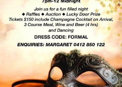 Masquerade Ball 18 June 2016