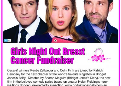 Girls Night Out Breast Cancer Fundraiser – 5 October 2016