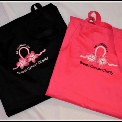 Be Uplifted Inc HOT PINK & BLACK APRONS