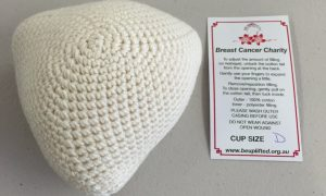 Crocheted knockers from be uplifted inc breast cancer charity brisbane getting your free crocheted knockers ccuart Images