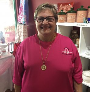 shop for a cause with Tina and help breast cancer patients