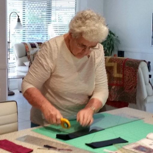 quilt_being_created_for_raffle_breast_cancer_charity