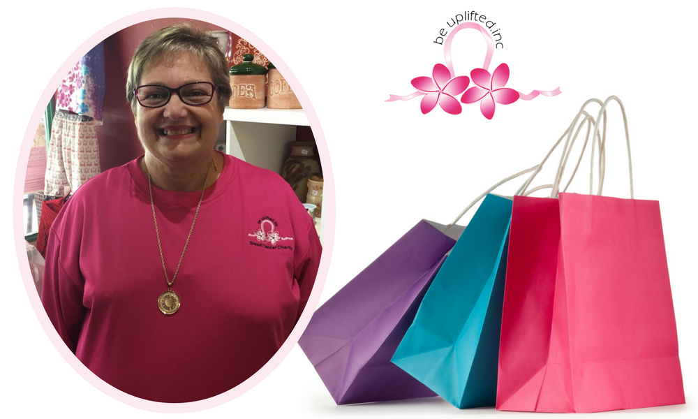 Be Uplifted Inc Volunteer Tina Runs Shopping Tours
