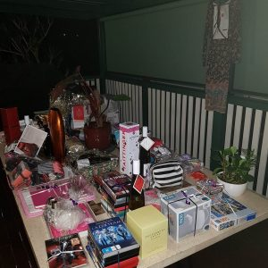 A sample of the great prizes on offer to guests